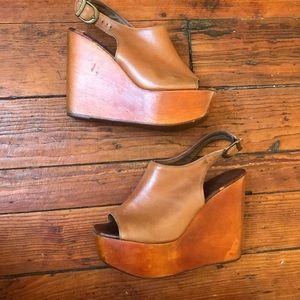 Jeffrey Campbell Open Toe Snickers 8M